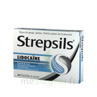 Strepsils Lidocaïne Pastilles Plq/24 à Saint-Pierre-des-Corps