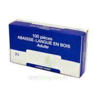 Cooper Abaisse-langue Bois Adulte B/100 à Saint-Pierre-des-Corps
