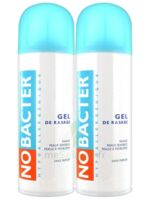 Nobacter Gel de rasage peau sensible 2*150ml à Saint-Pierre-des-Corps