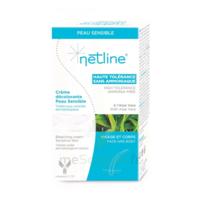 Netline Crème Visage/corps Décolorante Peau Sensible 30+30ml à Saint-Pierre-des-Corps