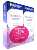 Hydralin Quotidien Gel lavant usage intime 2*200ml à Saint-Pierre-des-Corps