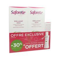 Saforelle Solution soin lavant doux 2*500ml+100ml à Saint-Pierre-des-Corps