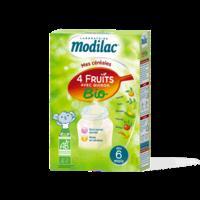 Modilac Céréales Farine 4 Fruits quinoa bio à partir de 6 mois B/230g à Saint-Pierre-des-Corps