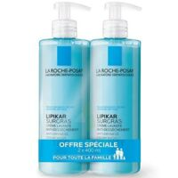 Lipikar Savon Liquide Surgras Peau Sèche Et Très Sèche 2*400ml à Saint-Pierre-des-Corps