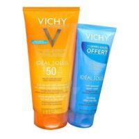 Vichy Idéal Soleil SPF50 Gel de lait ultra-fondant peau mouillée ou sèche 200ml+Après soleil à Saint-Pierre-des-Corps