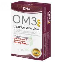 OM3 DHA Coeur Cerveau Vision Caps B/60 à Saint-Pierre-des-Corps