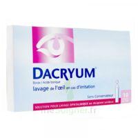 DACRYUM S p lav opht en récipient unidose 10Unid/5ml à Saint-Pierre-des-Corps