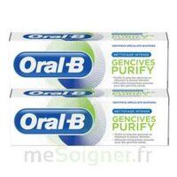 Oral B Gencives Purify Dentifrice 2*T/75ml à Saint-Pierre-des-Corps