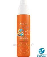 Avène Eau Thermale Solaire Spray Enfant 50+ 200ml à Saint-Pierre-des-Corps