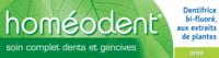 Boiron Homéodent Soin Complet Dents et Gencives Pâte Dentifrice Anis 2T/75ml à Saint-Pierre-des-Corps