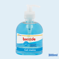 Baccide Gel Mains Désinfectant Sans Rinçage 300ml à Saint-Pierre-des-Corps