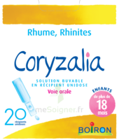 Boiron Coryzalia Solution buvable unidose B/20 à Saint-Pierre-des-Corps