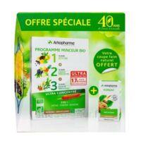 Arkofluides Programme Minceur Bio 30 ampoules/10ml + Arkogélules Konjac B/45 Offre spéciale 40 ans de santé naturelle à Saint-Pierre-des-Corps