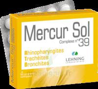 Lehning Mercur Sol Complexe N°39 Comprimés Sublinguals B/60 à Saint-Pierre-des-Corps