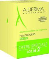 Aderma Les Indispensables Pain Surgras Duo 2x100g à Saint-Pierre-des-Corps