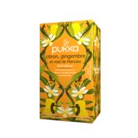 Pukka Bio Citron, Gingembre Et Miel De Manuka Tisane Immunité Citron Gingembre Miel De Manuka 20 Sachets à Saint-Pierre-des-Corps